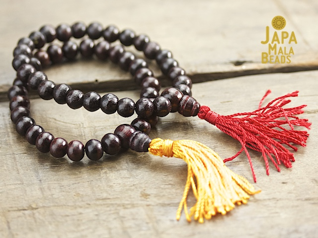 how to make japa mala beads