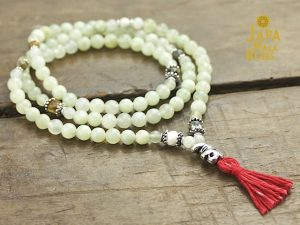Serpentine and Ocean Jasper Full Mala