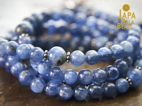 Kyanite mala beads