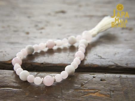 Rose Quartz Bracelet Buddhist Beads