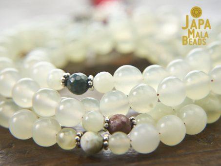 Serpentine and Ocean Jasper Mala Beads