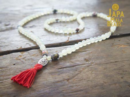 Serpentine and Ocean Jasper Prayer Bead Necklace