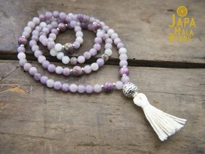 Sugilite and Charoite Necklace Mala