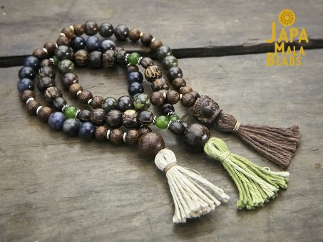 Courageous Heart Mala Bead Stack