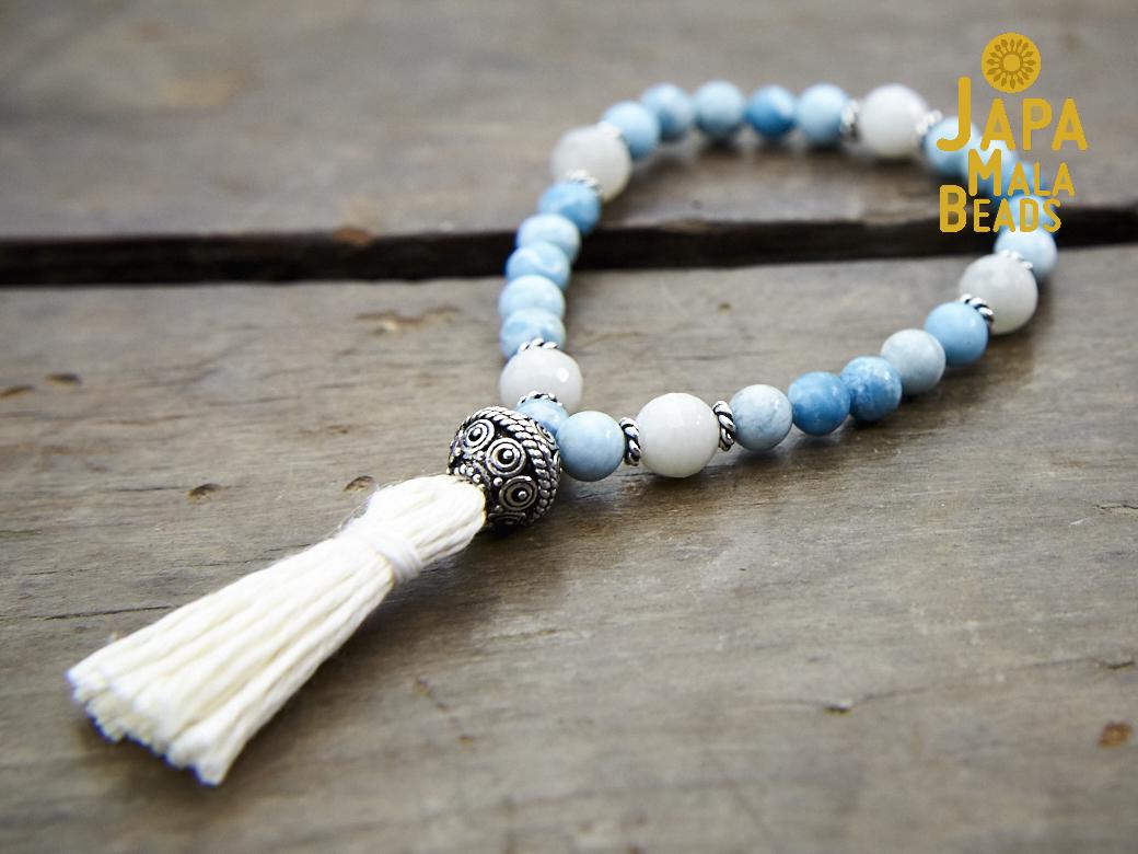 how to make wrist mala beads