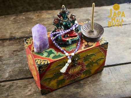 Green Tara Gem Altar Set