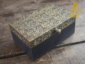 Brass Metal Top Mala Box