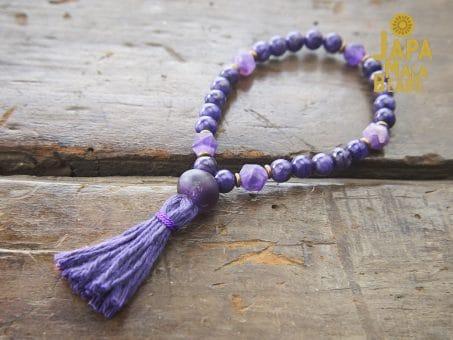 Charoite Bracelet Mala Beads