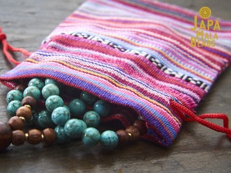Guatemalan Drawstring Mala Bag