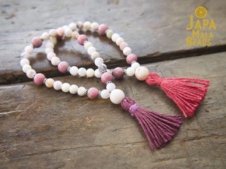 Opal and Rhodonite Bracelet Malas