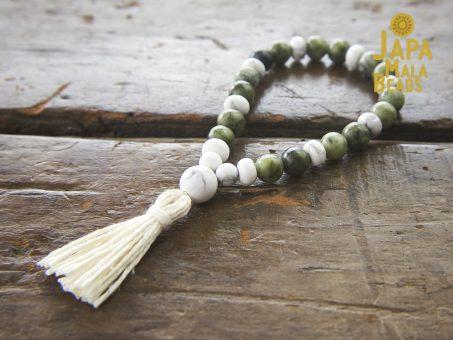 Saguaro Serpentine Bracelet Mala Beads