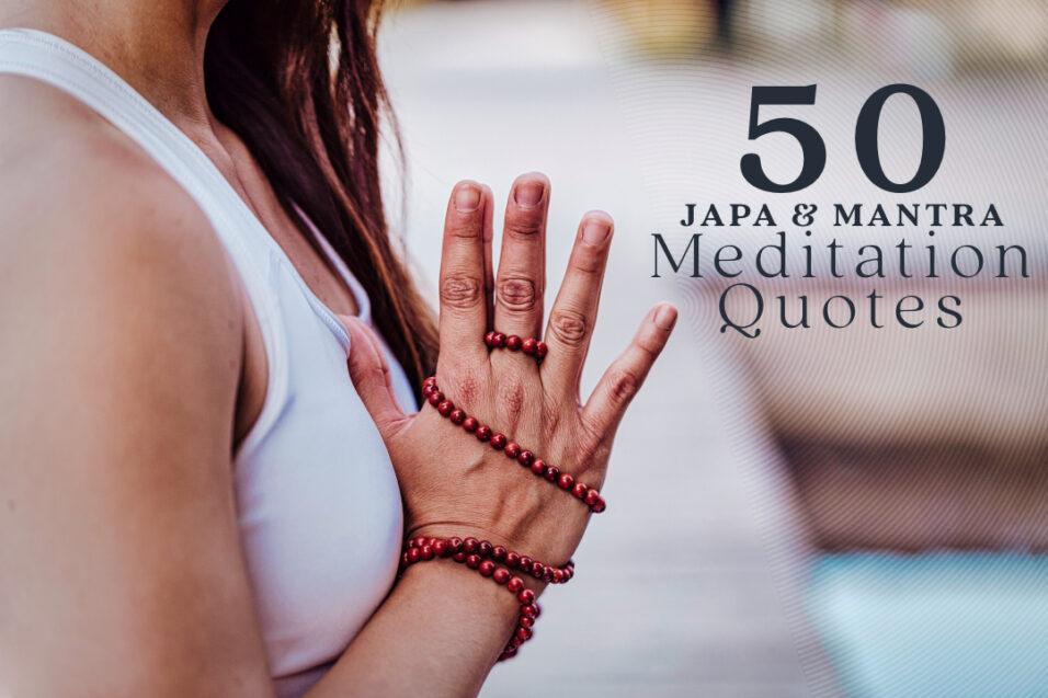 Mantra Meditation Quotes
