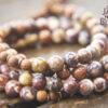 Bird's Eye Rhyolite 108 Mala Beads