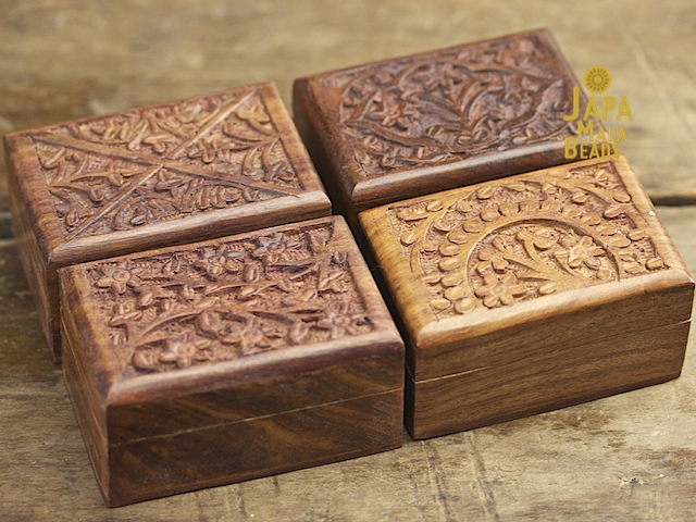 Mini Rosewood Mala Box