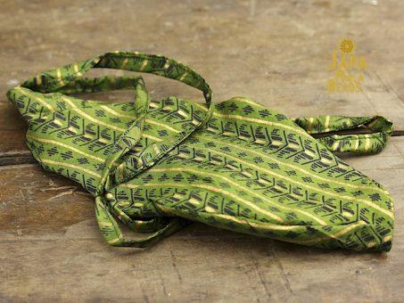 Silk Sari Gomukhi Mala Bag