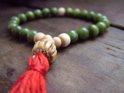 Jade and Bone Mala