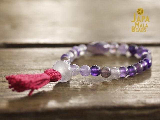Amethyst Mala Japa Mala Beads