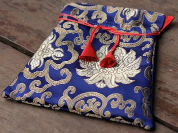 Nepal Drawstring Mala Bag
