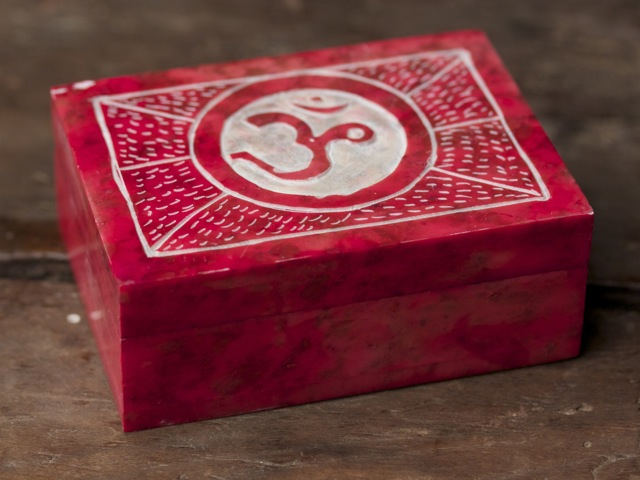 Red Stone Om Box