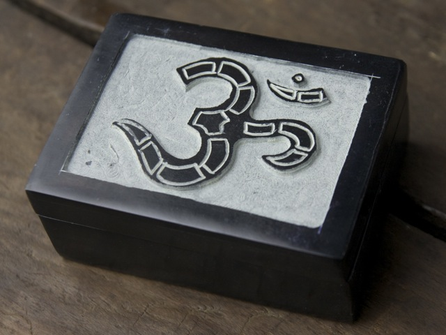 Black Stone Om Box